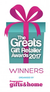 The Greats Gift Retailer Awards 2017